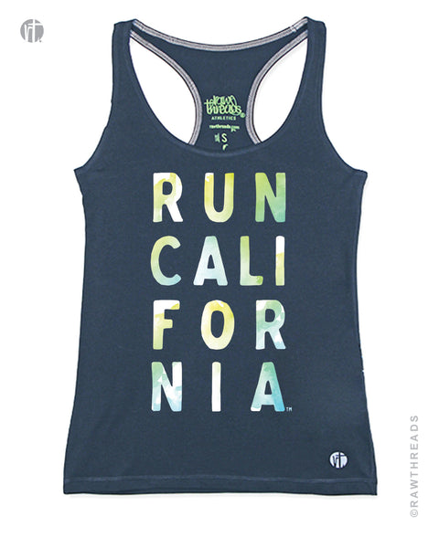 Run California Watercolor Racer