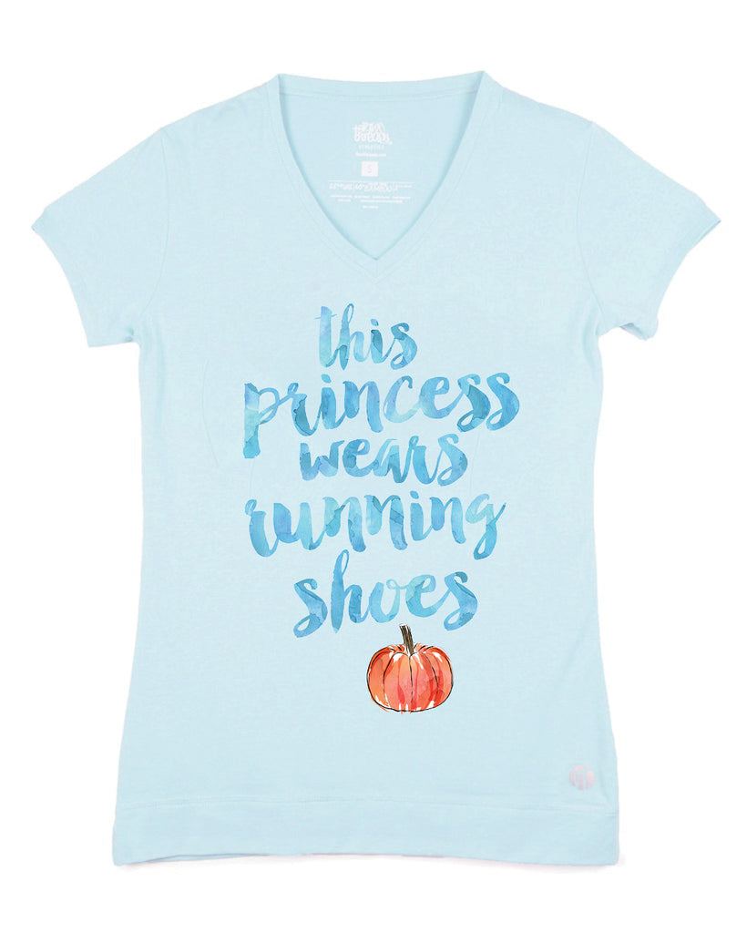 This Princess Wears Running Shoes (Pumpkin) V