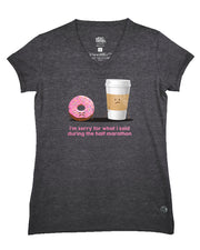 Donut & Coffee Custom Message V