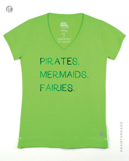 Pirates. Mermaids. Fairies. V