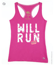 Will Run for Pink Macarons Racer