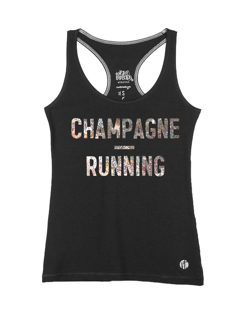 Champagne and Running Racer