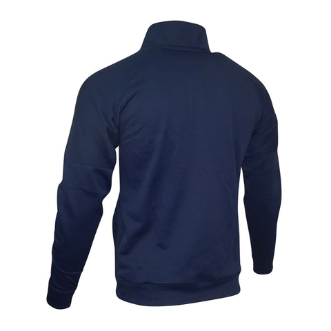 Michigan Wolverines NCAA Adidas Men's Sideline Navy Blue Pullover Fleece