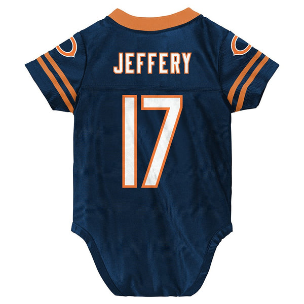 Alshon Jeffer NFL Chicago Bears Infant Newborn Creeper Replica Jersey (3M-9M)