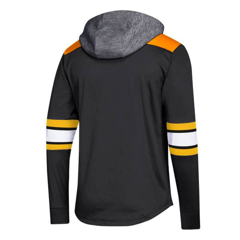 Boston Bruins NHL Adidas Men's Black Authentic Platinum Pullover Hoodie