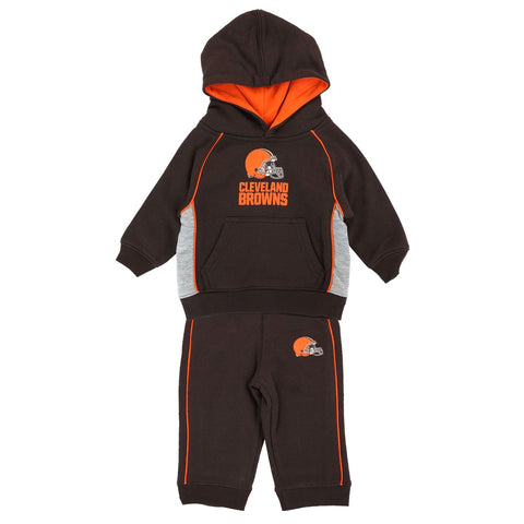 "Cleveland Browns NFL ""Classic Fan"" Pullover Hoodie & Pants Set Infant (12-24M)"