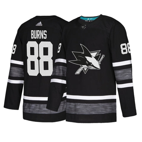 Brent Burns San Jose Sharks NHL Black 2019 NHL All Star Parley Authentic Jersey
