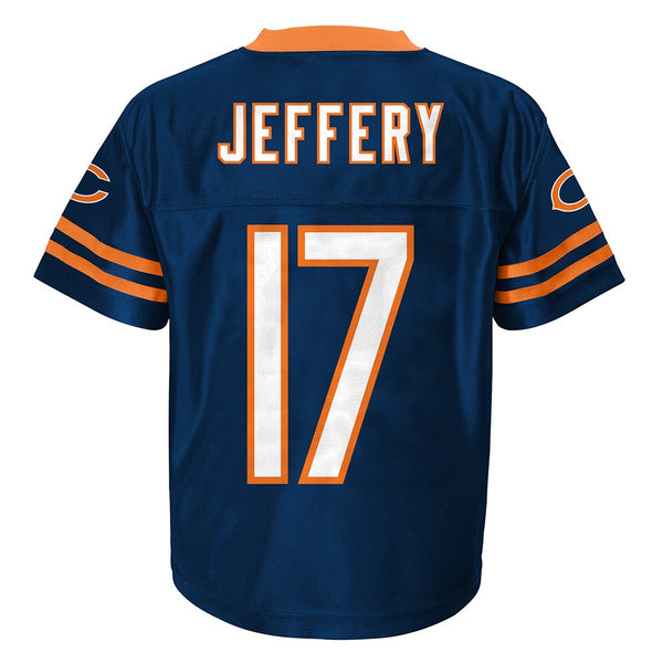 Alshon Jeffery NFL Chicago Bears Replica Home Navy Blue Jersey Toddler (2T-3T)