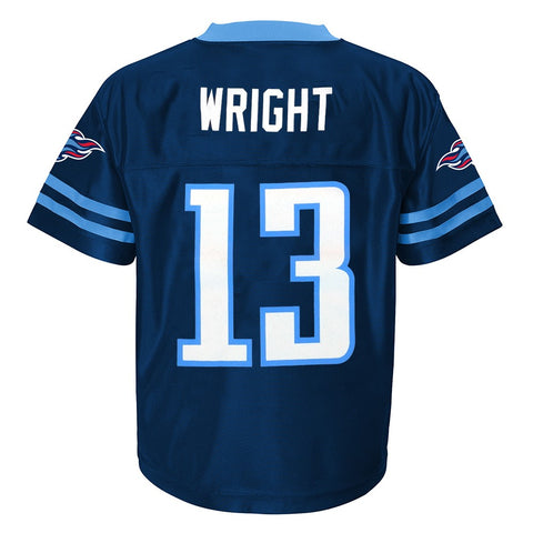 Kendall Wright NFL Tennessee Titans Replica Home Jersey Infant Toddler (2T-4T)