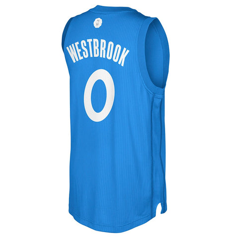 Russell Westbrook OKC Thunder NBA Adidas 2016 Christmas Day Swingman Jersey