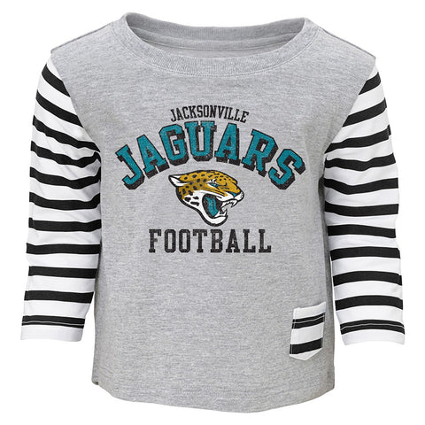 "Jacksonville Jaguars NFL ""Little Big Girl"" T-Shirt & Pants Set Toddler (2T-4T)"
