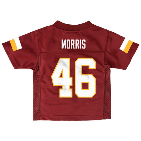 Alfred Morris NFL Washington Redskins Mid Tier Burgundy Jersey Toddler (2T-4T)
