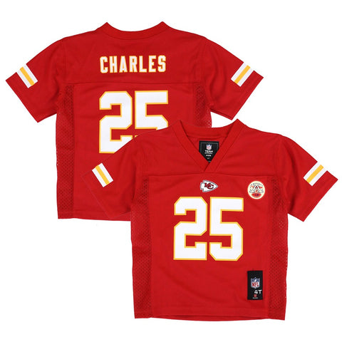 Jamaal Charles NFL Kansas City Chiefs Mid Tier Red Home Jersey Toddler (2T-4T)