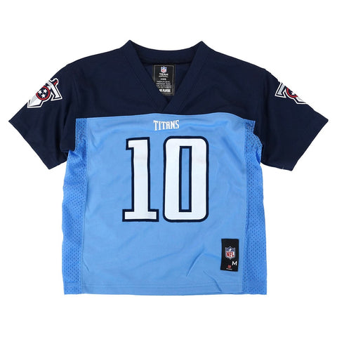 Jake Locker NFL Tennessee Titans Mid Tier Light Blue Home Jersey Toddler (2T-4T)