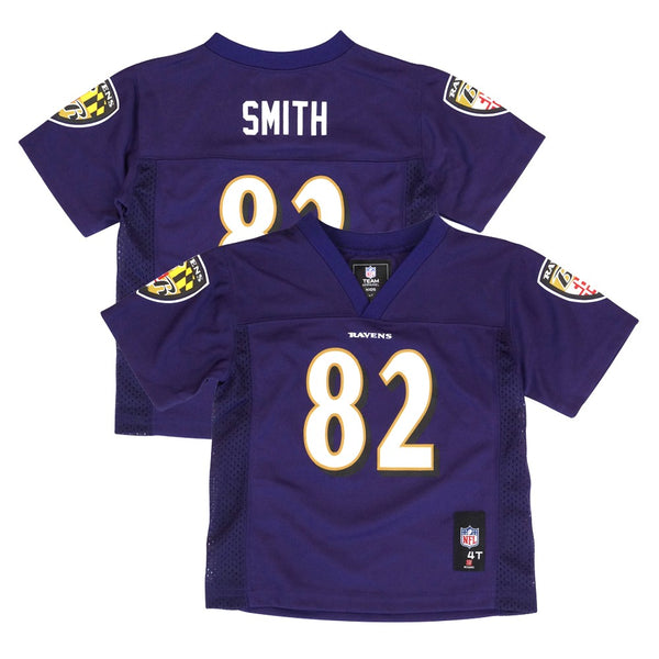 Torrey Smith NFL Baltimore Ravens Mid Tier Purple Home Jersey Toddler (2T-4T)