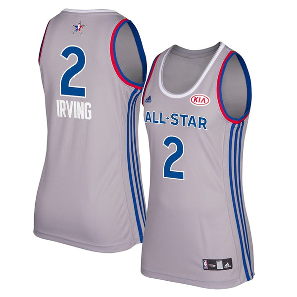 Kyrie Irving 2017 East NBA All Star Grey Women's Replica Jersey