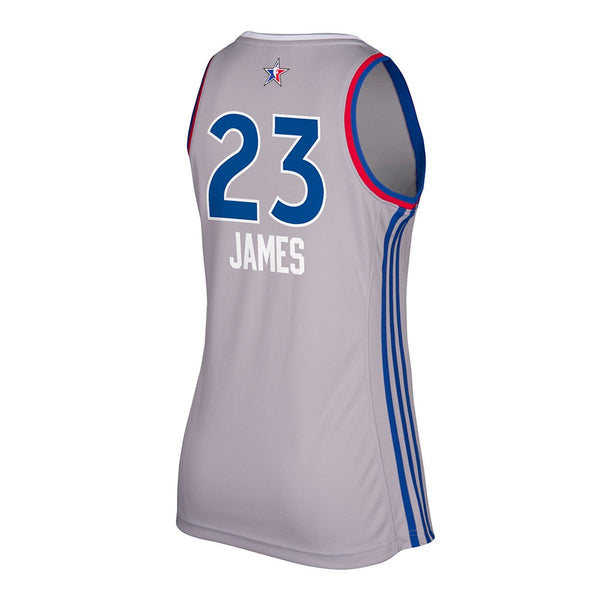 LeBron James Cleveland Cavaliers NBA Women's 2017 All Star East Replica Jersey