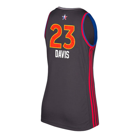Anthony Davis New Orleans Pelicans NBA Women's 2017 All Star West Replica Jersey