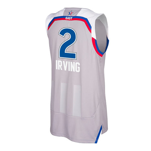 Kyrie Irving Cleveland Cavaliers NBA Grey '17 All Star Climacool Swingman Jersey