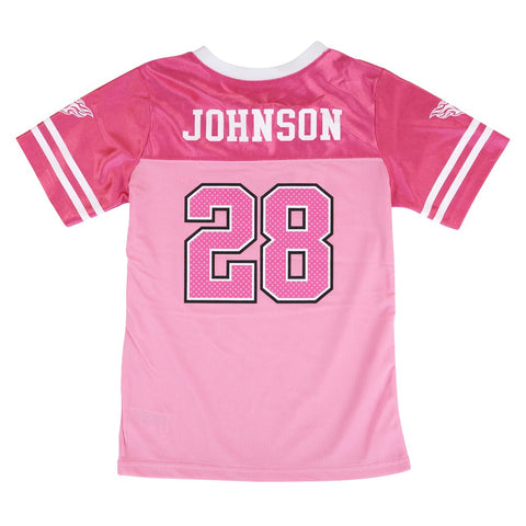 Kendall Wright NFL Tennessee Titans Fashion Pink Jersey Little Girls (4-6)