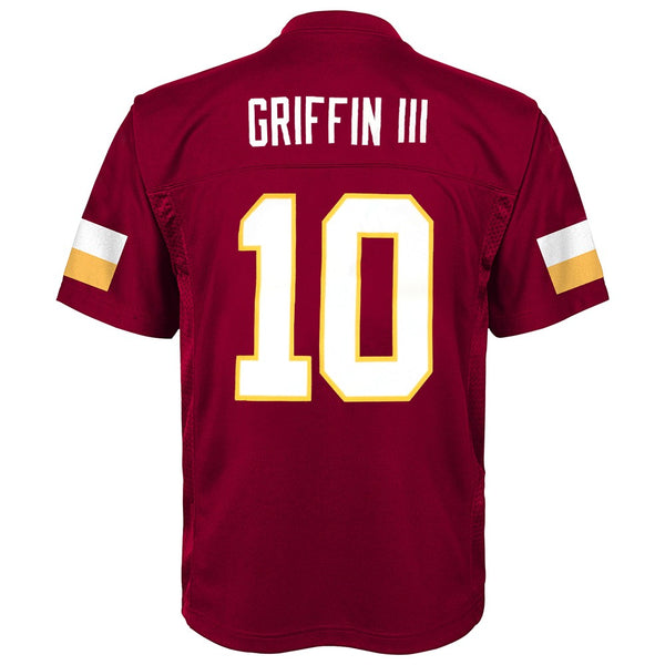 Robert Griffin iii NFL Washington Redskins Mid Tier Replica Home Jersey Boys 4-7