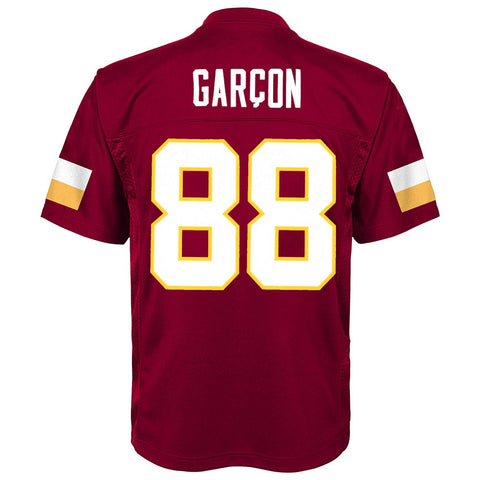 Pierre Garcon NFL Washington Redskins Mid Tier Replica Home Jersey Boys Sz (4-7)