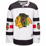Chicago Blackhawks NHL Reebok White Stadium Series Official Premier Jersey