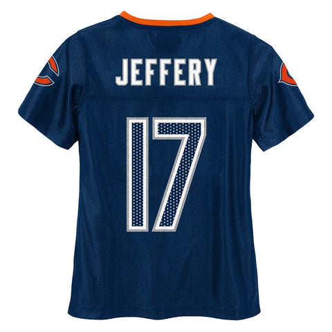 Alshon Jeffery NFL Chicago Bears Mid Tier Fashion Jersey Girls Youth (7-16)