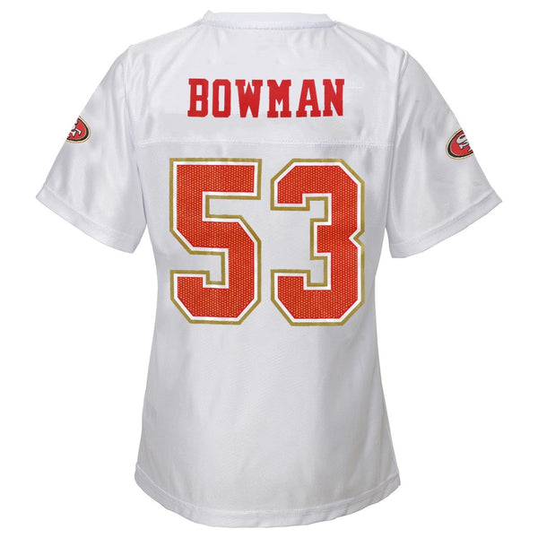 NaVorro Bowman NFL San Francisco 49ers Replica Jersey Girls Youth (XS-XL)