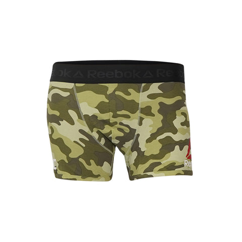 Reebok UFC Men's Camo  Fight Boxer Brief ii Shorts B43932