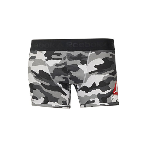 Reebok UFC Men's Grey  Fight Boxer Brief ii Shorts B43934