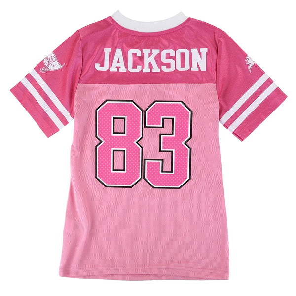 Vincent Jackson Tampa Bay Buccaneers NFL Pink Fashion Replica Jersey Youth Girls