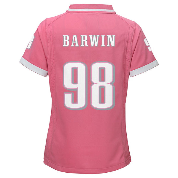"Connor Barwin NFL New York Jets ""Bubble Gum"" Pink Fashion Jersey Girls (S-XL)"