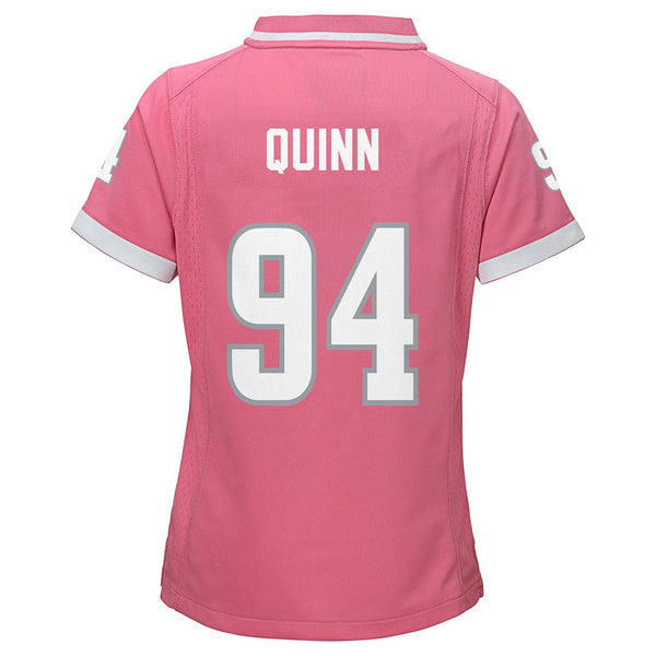 "Robert Quinn NFL Los Angeles Rams ""Bubble Gum"" Pink Fashion Jersey Girls (S-XL)"