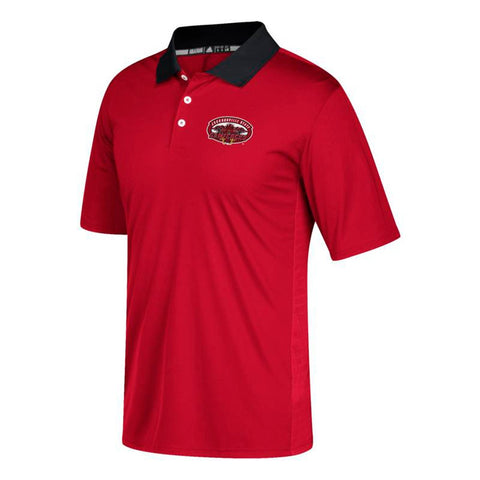 Jacksonville State Gamecocks NCAA Men's 2017 Sideline Red HD Coaches Polo Shirt