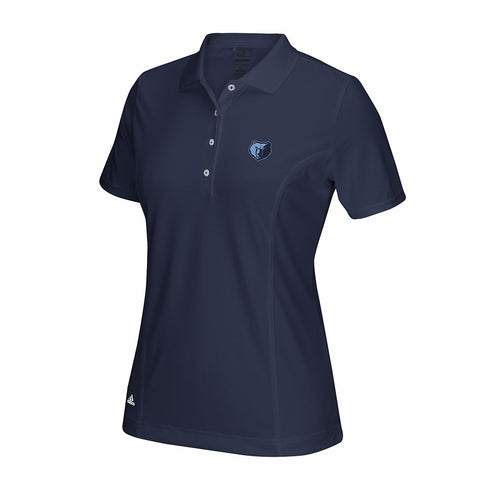 Memphis Grizzlies TaylorMade Puremotion Women's Navy Performance Golf Polo Shirt