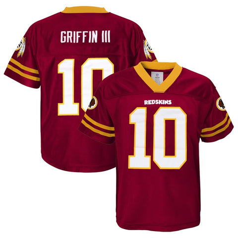 Robert Griffin III NFL Washington Redskins Dazzle Replica Jersey Youth (XS-2XL)