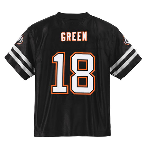 A. J. Green NFL Cincinnati Bengals Home Youth Replica Black Jersey Size (S-XL)