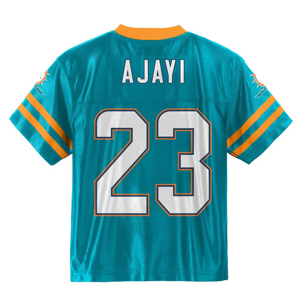Jay Ajayi NFL Miami Dolphins Home Teal Green Youth Replica Jersey Size (XS-XL)