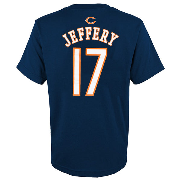 Alshon Jeffery NFL Chicago Bears Player Jersey N&N T-Shirt Youth (S-XL)