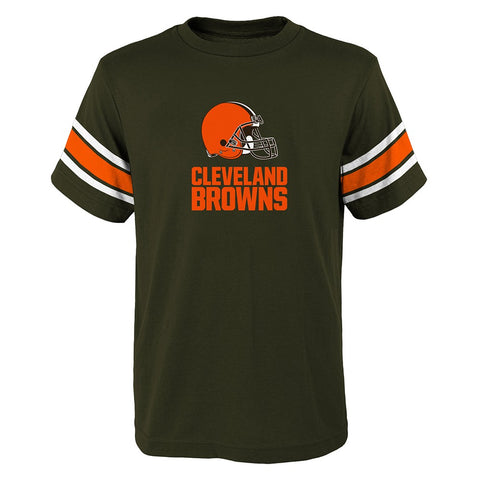 "Cleveland Browns NFL Youth Brown ""Loyal Fan"" T-Shirt"