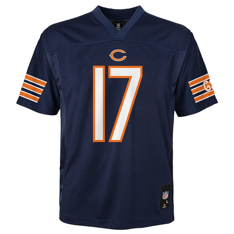 Alshon Jeffery NFL Chicago Bears Mid Tier Replica Home Navy Jersey Youth (S-XL)