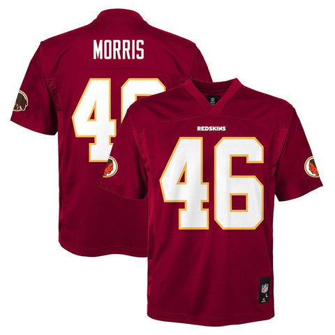 Alfred Morris NFL Washington Redskins Mid Tier Home Maroon Jersey Youth (S-XL)
