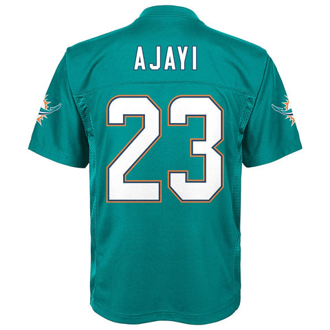 Jay Ajayi NFL Miami Dolphins Mid Tier Home Teal Player Jersey Youth (S-XL)
