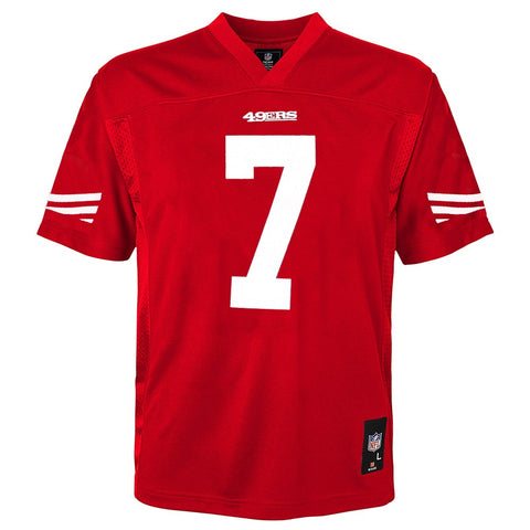 Colin Kaepernick NFL San Francisco 49ers Mid Tier Home Red Jersey Youth (S-XL