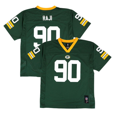 B.J. Raji NFL Green Bay Packers Mid Tier Replica Home Green Jersey Youth (S-XL)