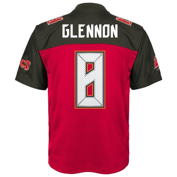 Mike Glennon NFL Tampa Bay Buccaneers Mid Tier Home Red Jersey Youth (S-XL)