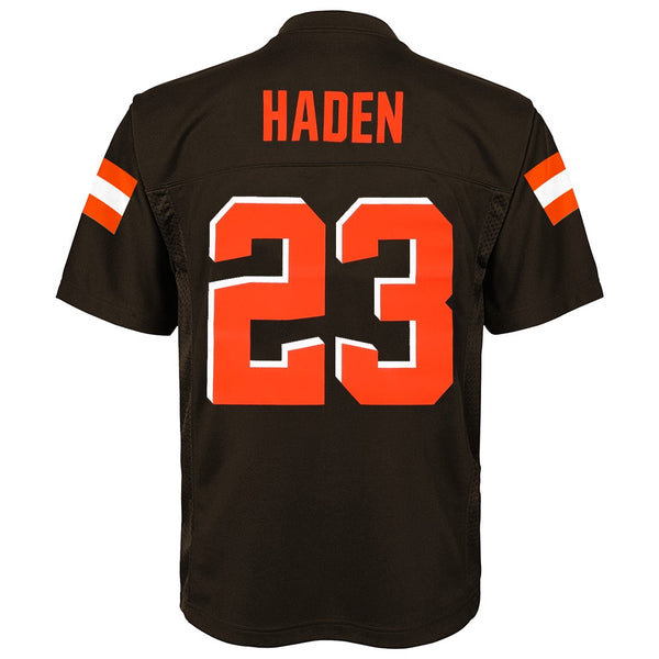 Joe Haden NFL Cleveland Browns Mid Tier Home Brown Jersey Youth (S-XL)