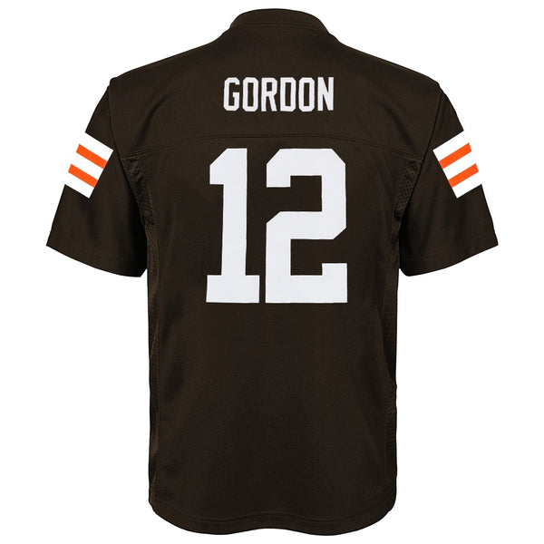 Josh Gordon NFL Cleveland Browns Mid Tier Home Brown Jersey Youth (S-XL)