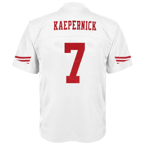 Colin Kaepernick NFL San Francisco 49ers Mid Tier Away White Jersey Youth (S-XL)